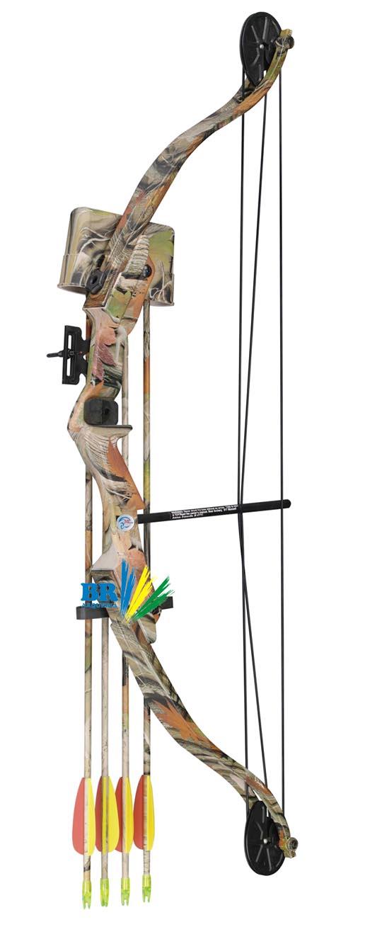 Arco e flecha Composto Hoover Scorpion 29 Lbs Camuflado